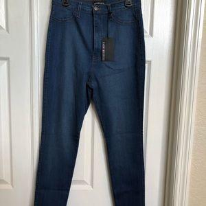 Fashion Nova Classic High Waist Skinny Jeans Sz 15